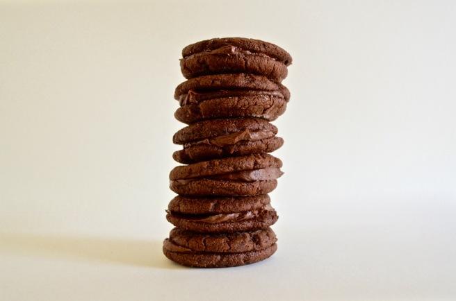 Bourbon Biscuits, Gluten Free, the Plain Kitchen
